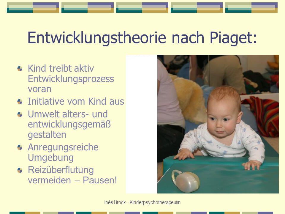 Entwicklungstheorie nach Piaget: