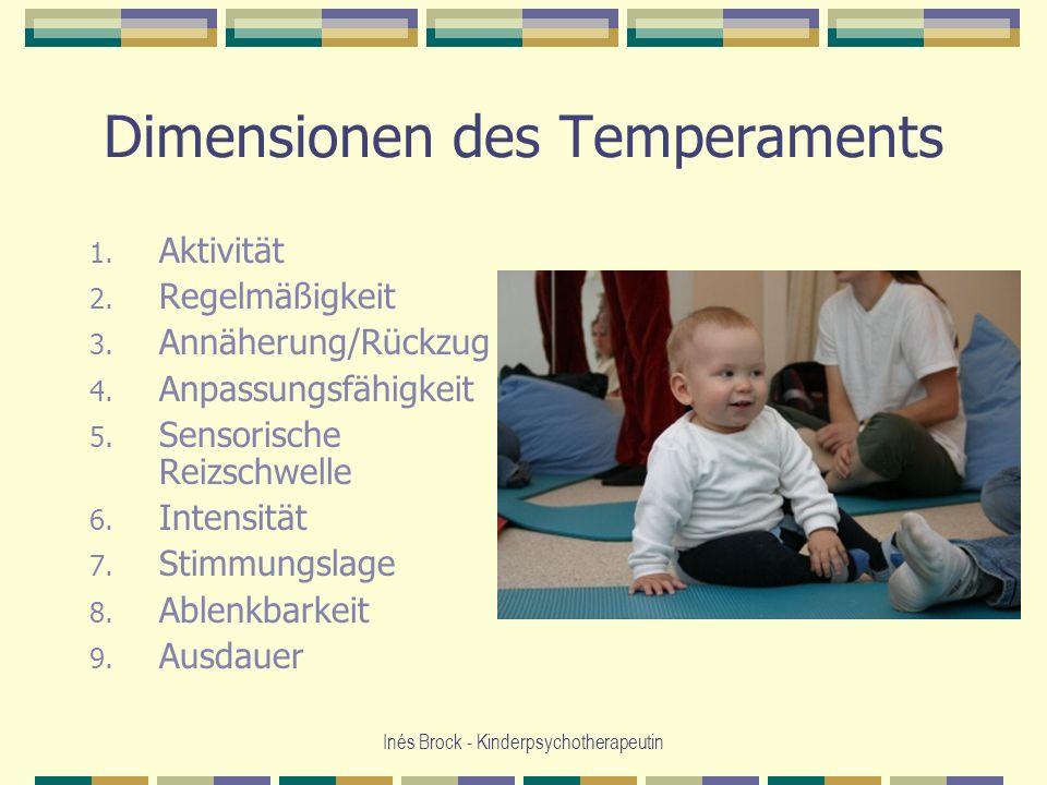 Dimensionen des Temperaments