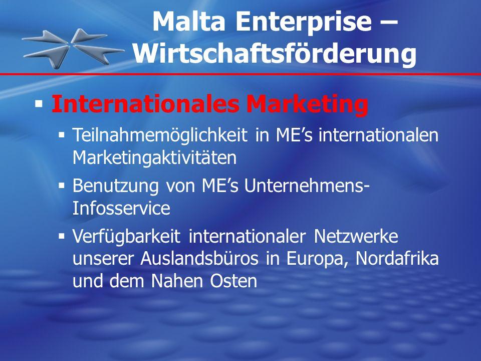Malta Enterprise – Wirtschaftsförderung