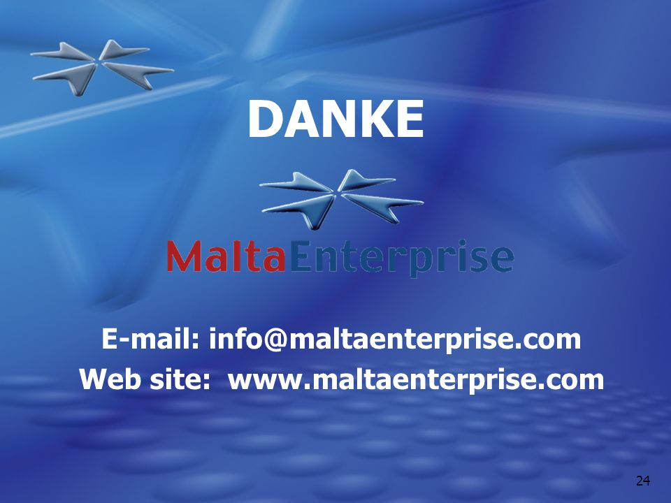 E-mail: info@maltaenterprise.com Web site: www.maltaenterprise.com