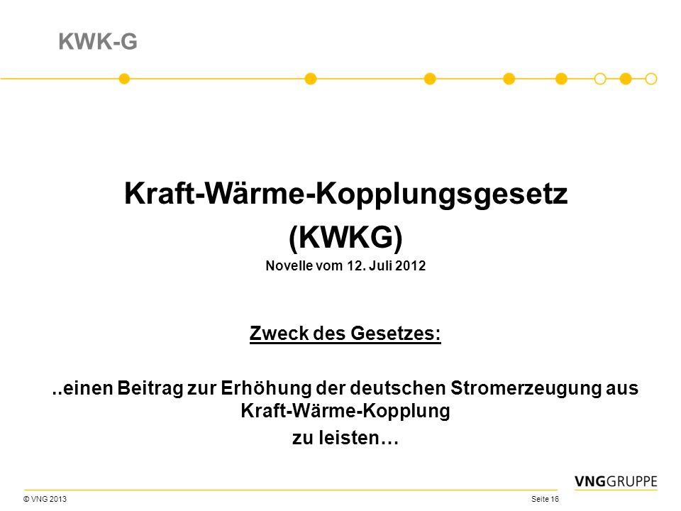 Kraft-Wärme-Kopplungsgesetz