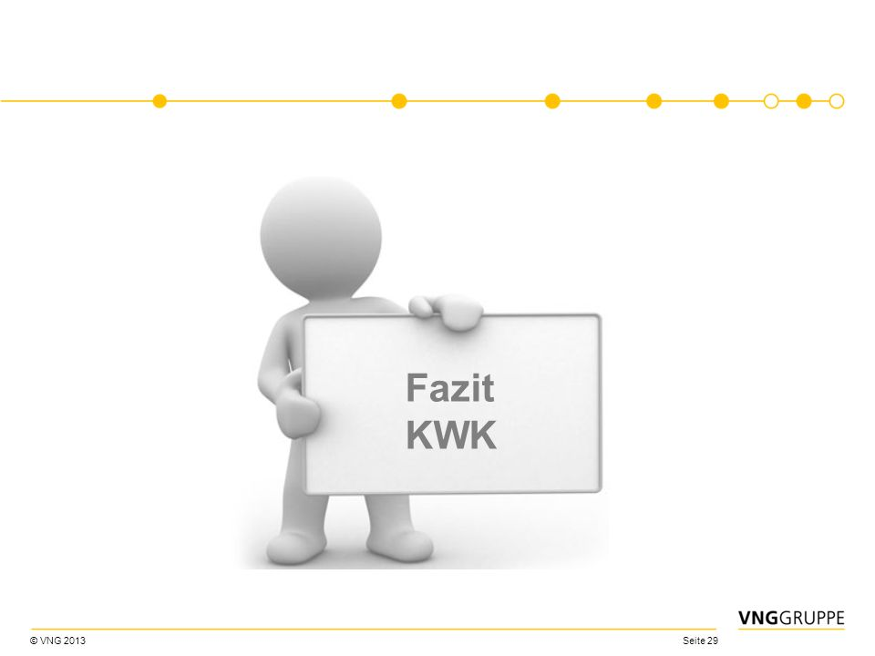 Fazit KWK