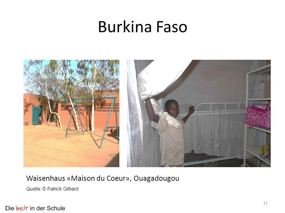 Burkina Faso Waisenhaus «Maison du Coeur», Ouagadougou