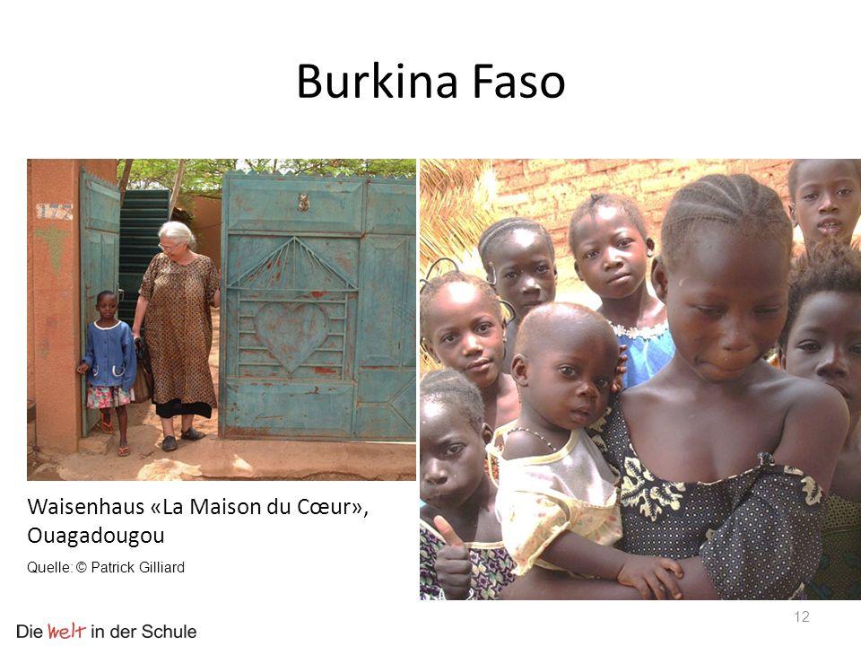 Burkina Faso Waisenhaus «La Maison du Cœur», Ouagadougou