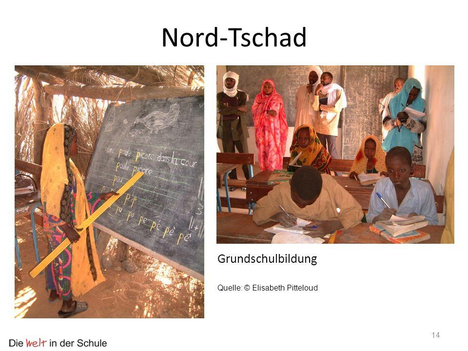 Nord-Tschad Grundschulbildung Quelle: © Elisabeth Pitteloud
