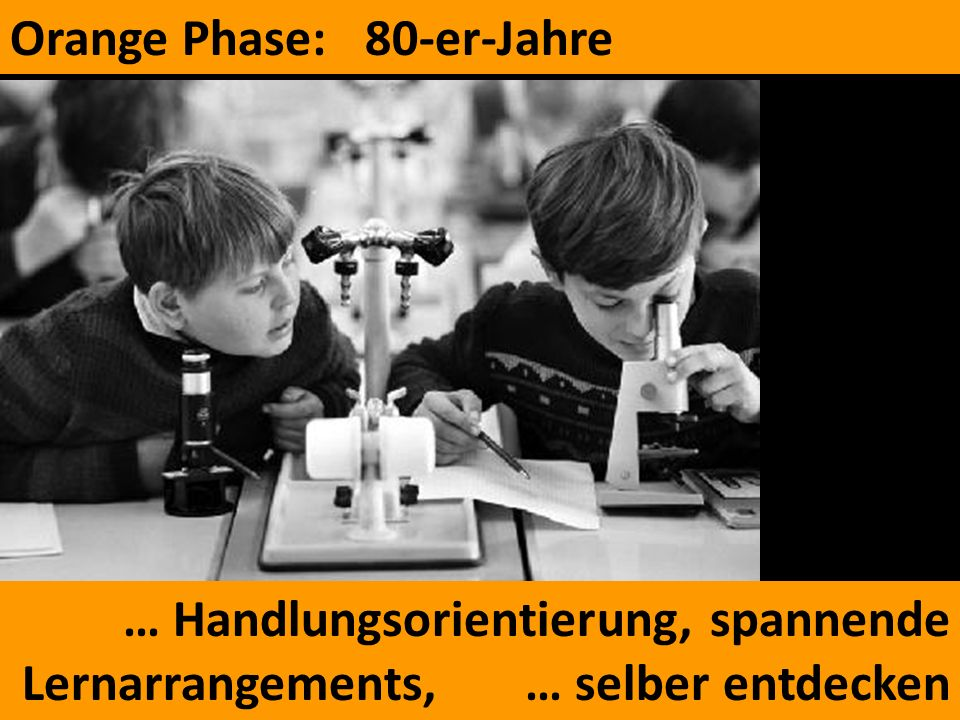 Orange Phase: 80-er-Jahre