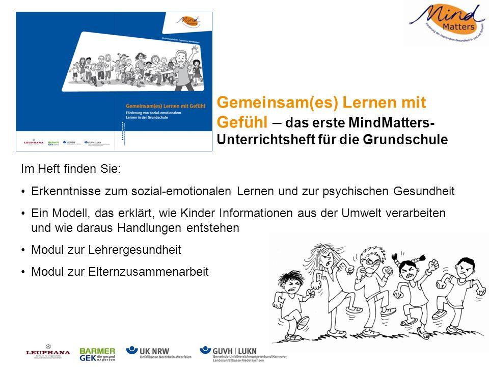 Gemeinsam(es) Lernen mit Gefühl – das erste MindMatters-Unterrichtsheft für die Grundschule