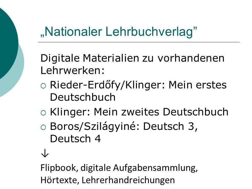"""""""Nationaler Lehrbuchverlag"""
