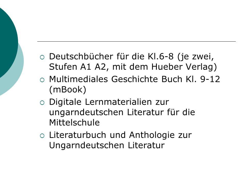 Deutschbücher für die Kl