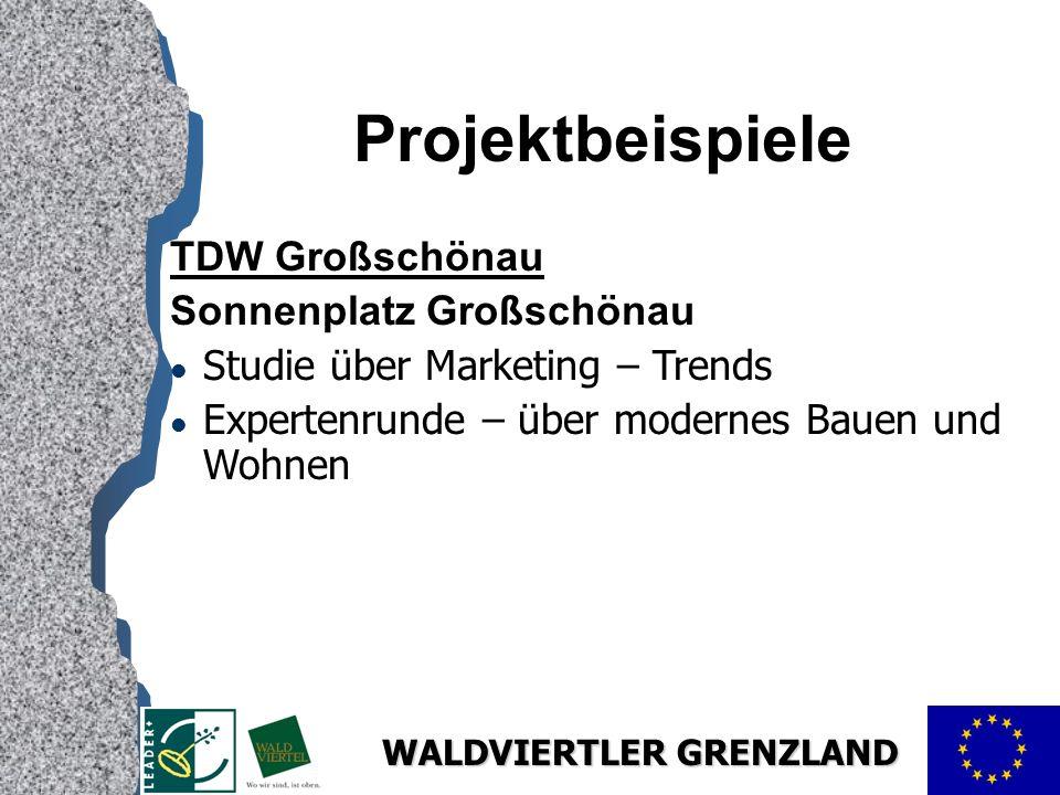 Projektbeispiele TDW Großschönau Sonnenplatz Großschönau