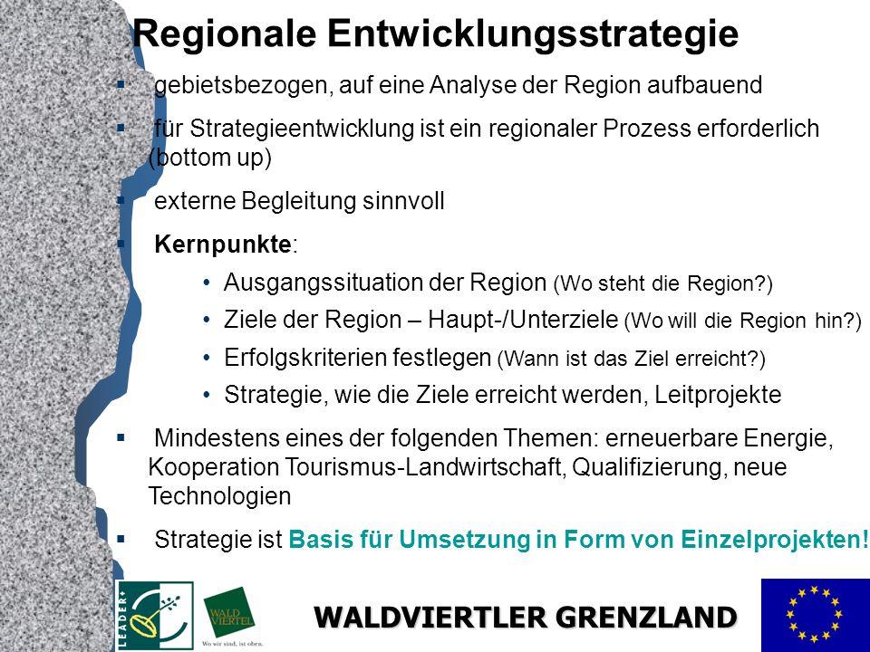 Regionale Entwicklungsstrategie