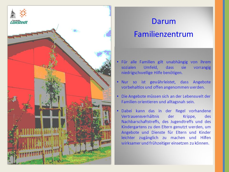 Darum Familienzentrum