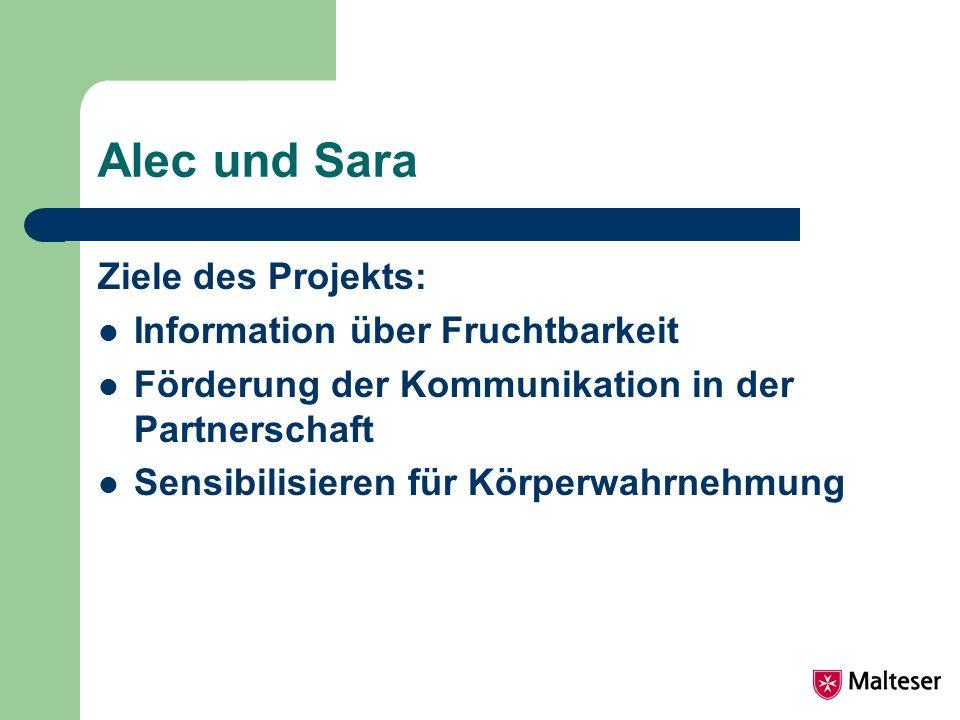 Alec und Sara Ziele des Projekts: Information über Fruchtbarkeit