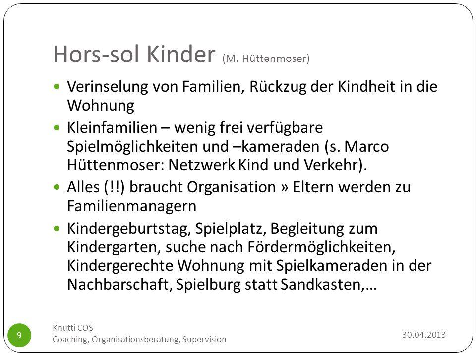 Hors-sol Kinder (M. Hüttenmoser)