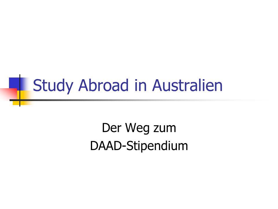 Study Abroad in Australien