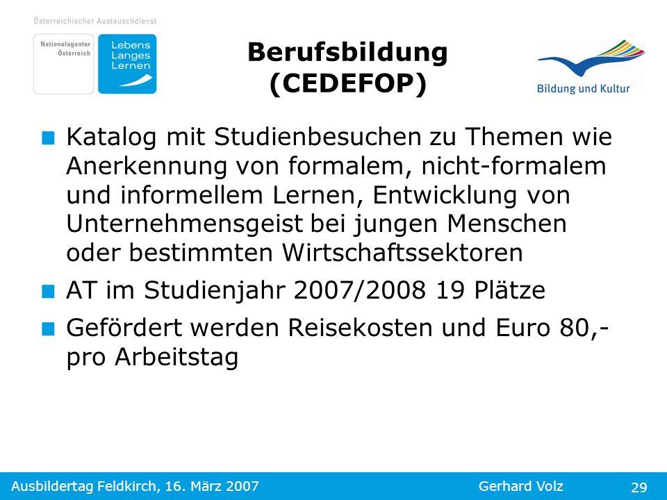 Berufsbildung (CEDEFOP)