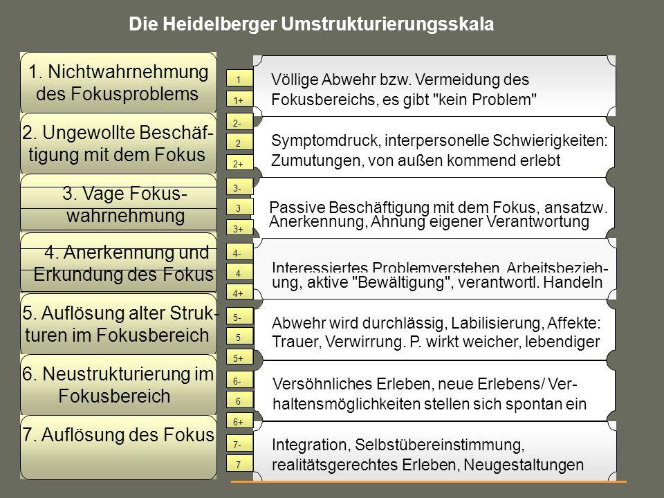 Die Heidelberger Umstrukturierungsskala