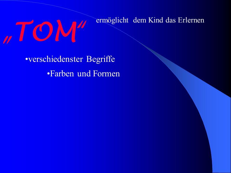 """""""TOM verschiedenster Begriffe Farben und Formen"""