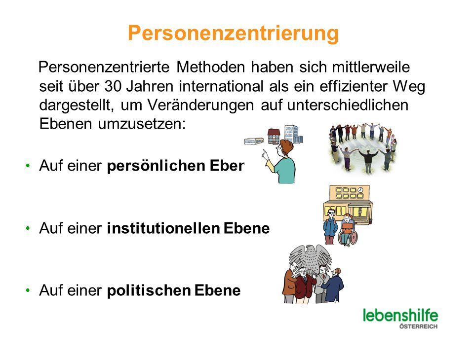 Personenzentrierung