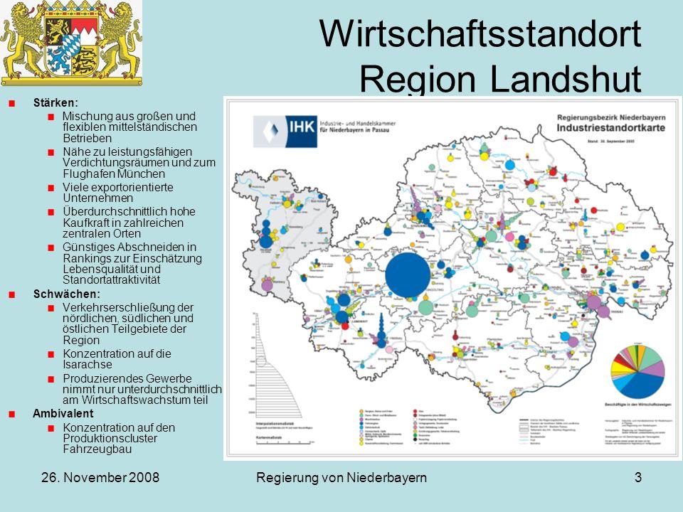 Wirtschaftsstandort Region Landshut