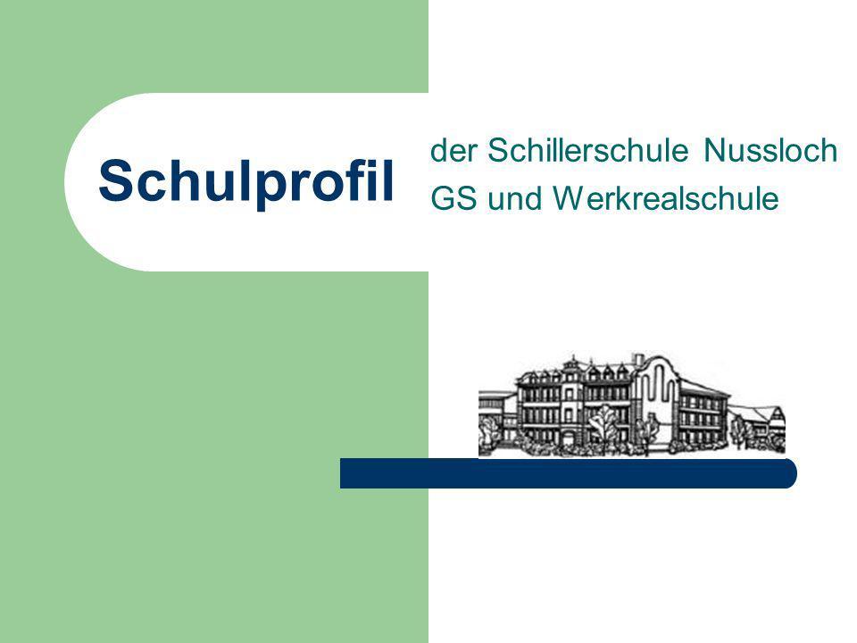 der Schillerschule Nussloch GS und Werkrealschule
