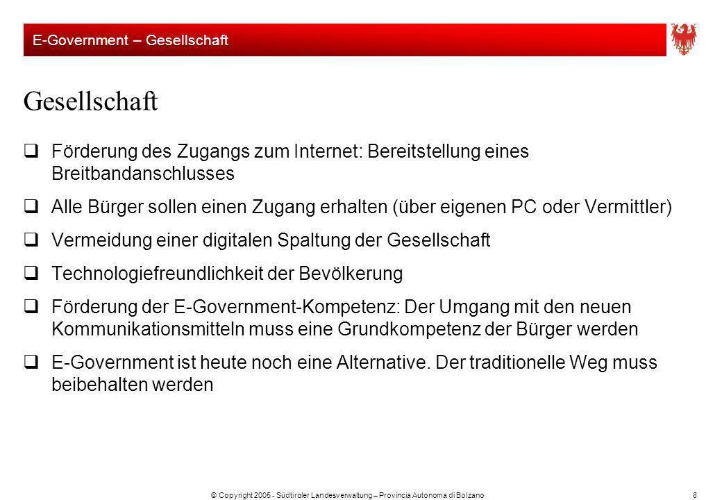 E-Government – Gesellschaft