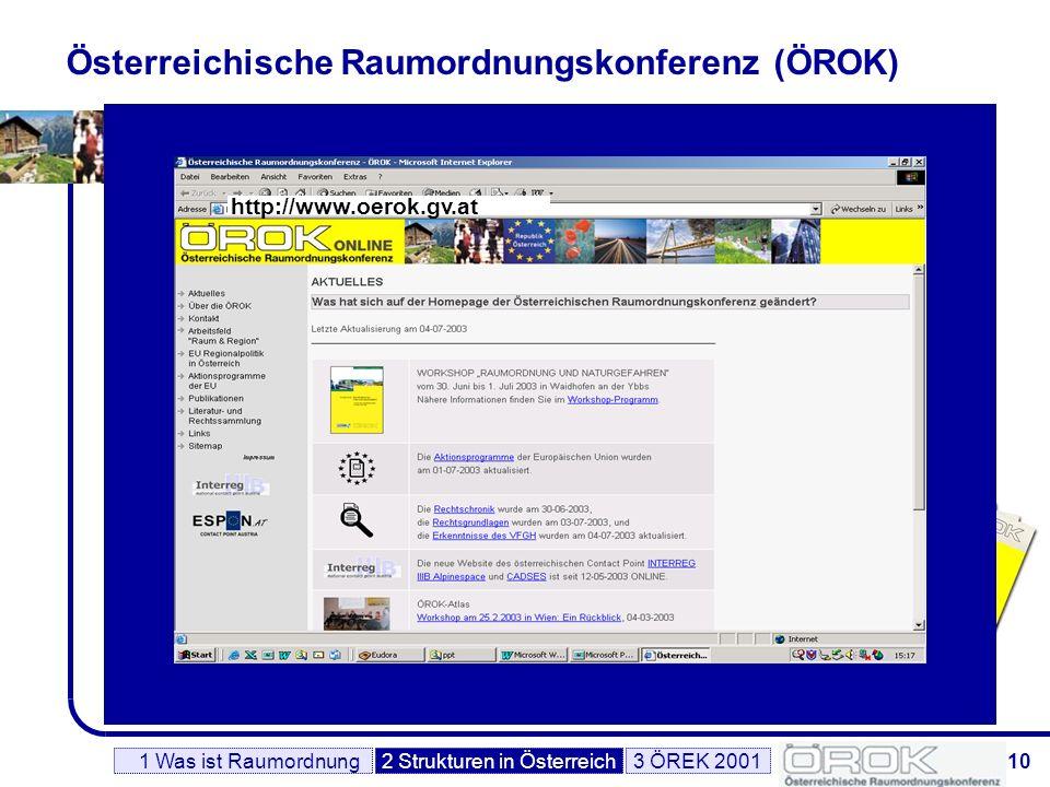 Österreichische Raumordnungskonferenz (ÖROK)