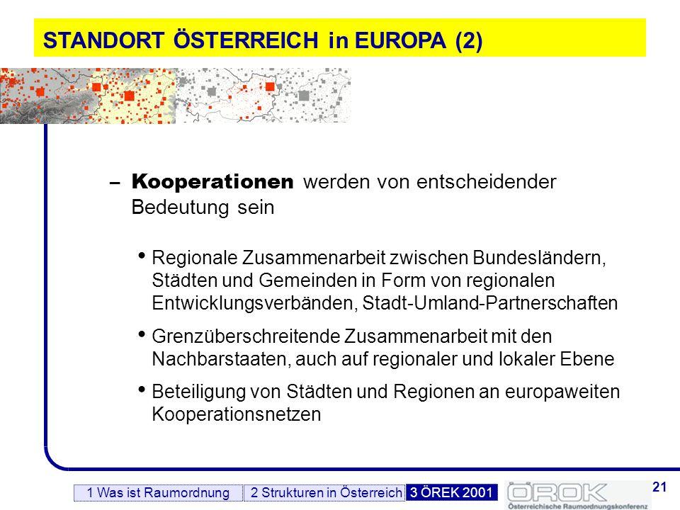 STANDORT ÖSTERREICH in EUROPA (2)