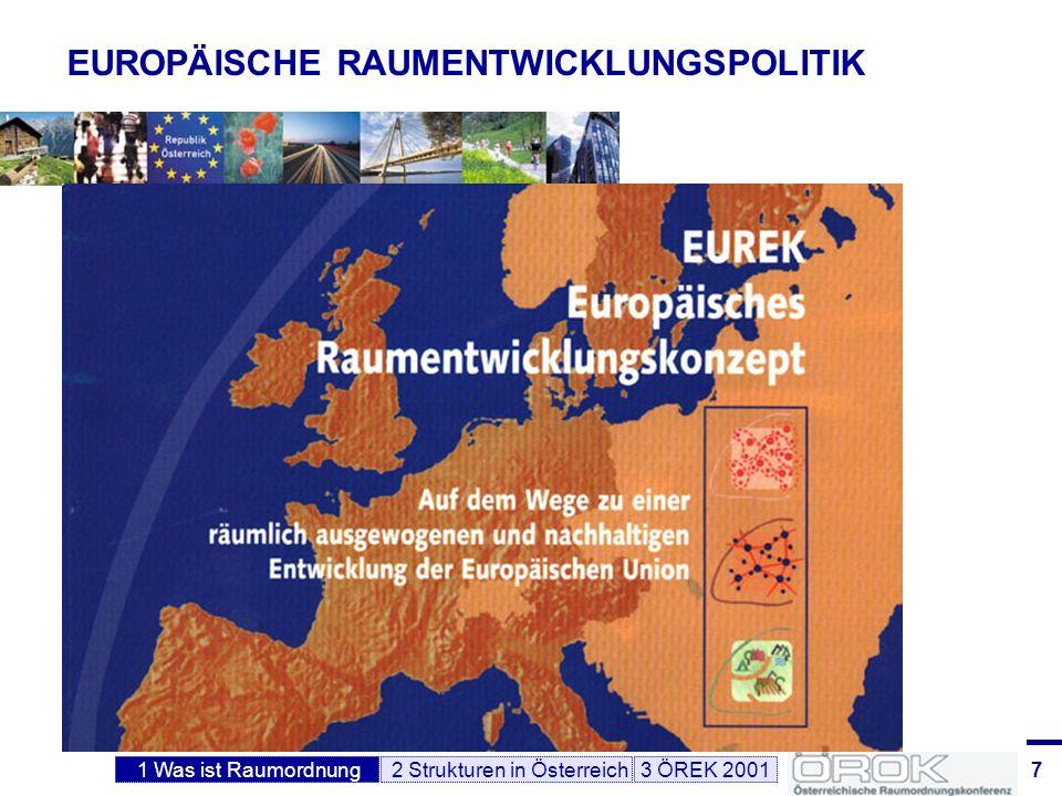 EUROPÄISCHE RAUMENTWICKLUNGSPOLITIK