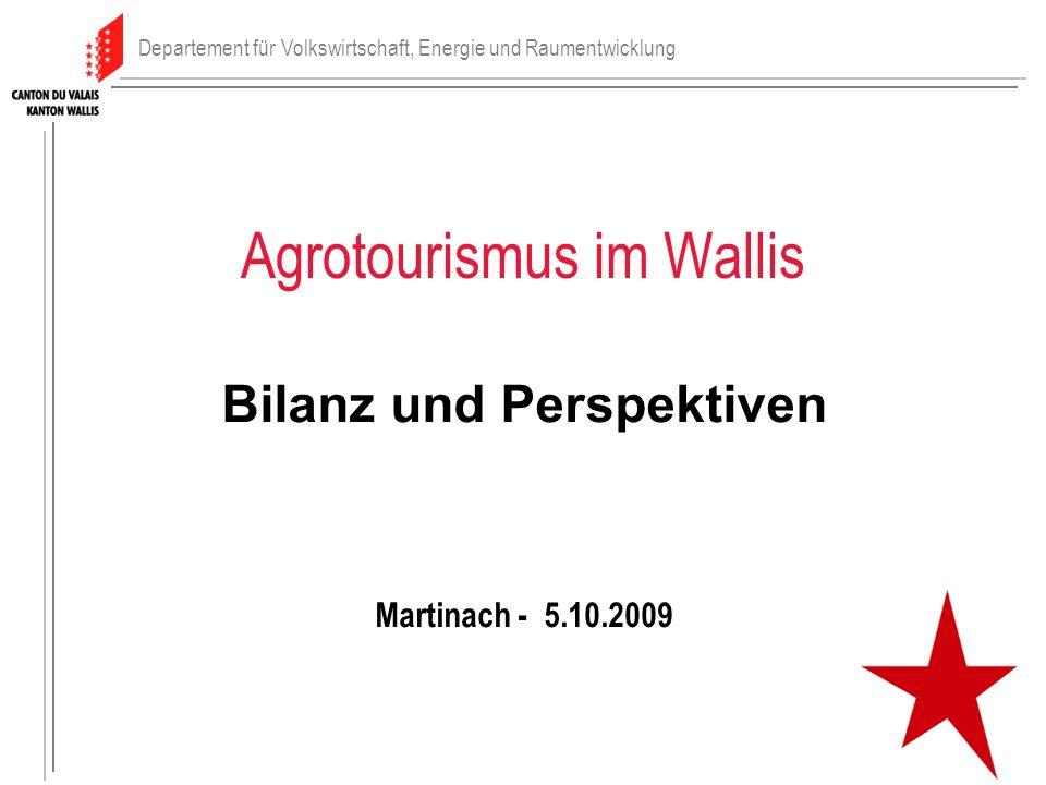Agrotourismus im Wallis