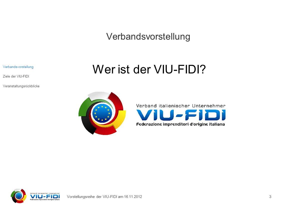 Wer ist der VIU-FIDI Verbandsvorstellung