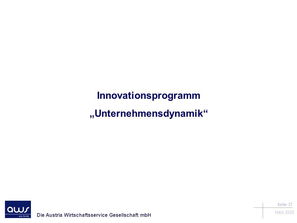 """""""Unternehmensdynamik"""