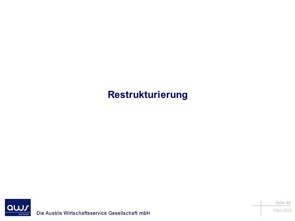 Restrukturierung