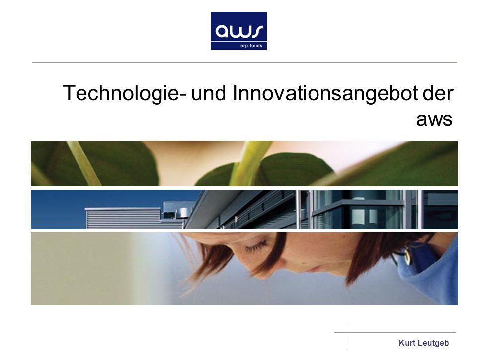 Technologie- und Innovationsangebot der aws