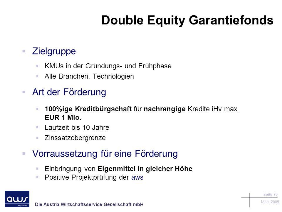 Double Equity Garantiefonds