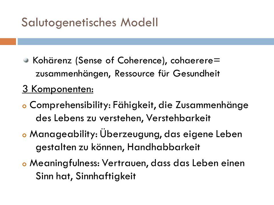 Salutogenetisches Modell