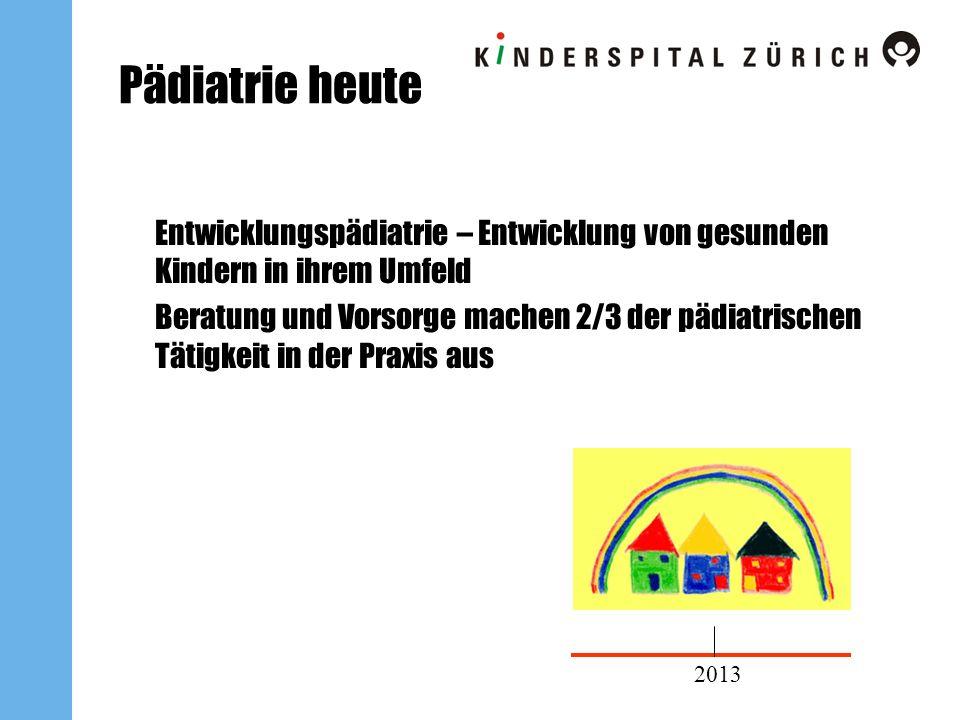 Pädiatrie heute Entwicklungspädiatrie – Entwicklung von gesunden Kindern in ihrem Umfeld.