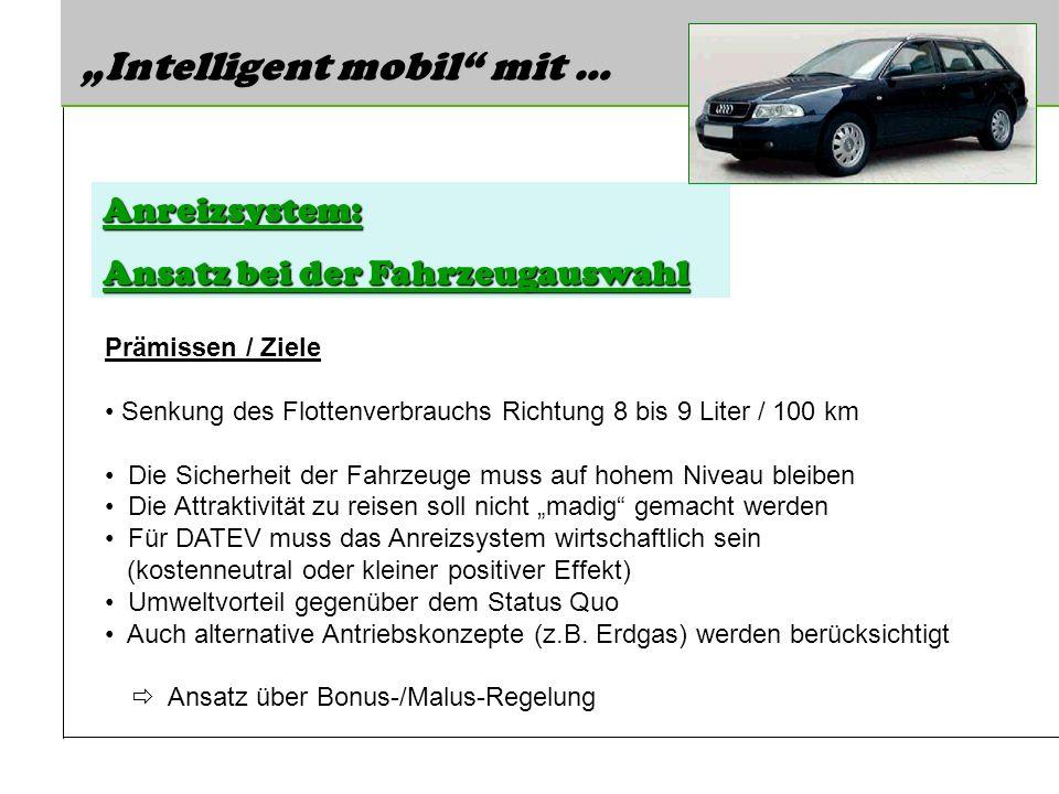 """Intelligent mobil mit …"
