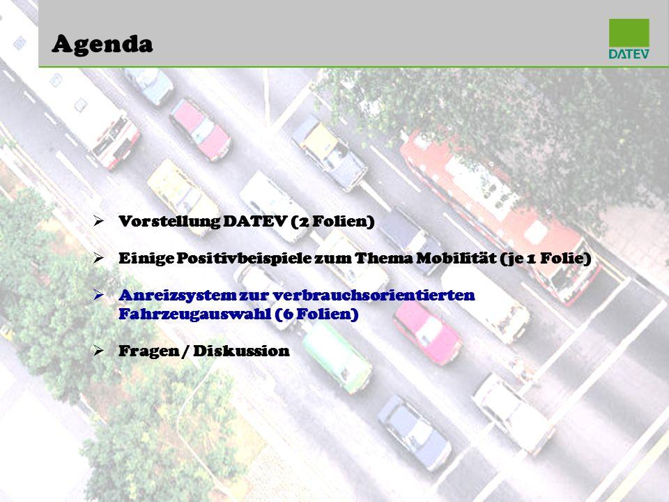 Agenda Vorstellung DATEV (2 Folien)