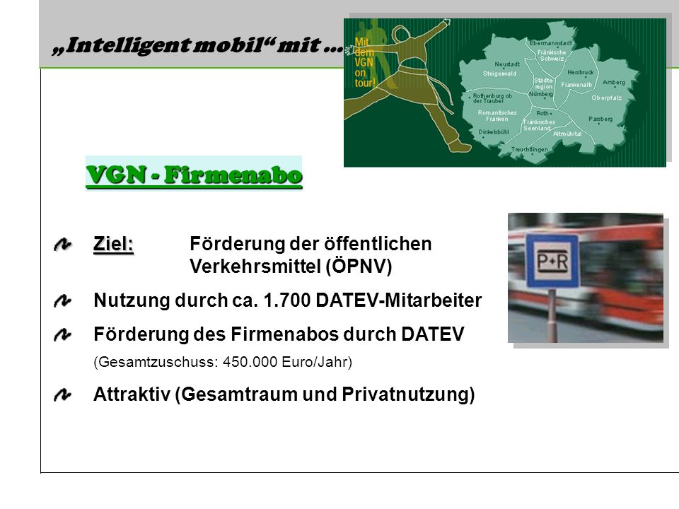 "VGN - Firmenabo ""Intelligent mobil mit …"