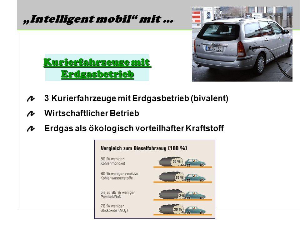 Kurierfahrzeuge mit Erdgasbetrieb