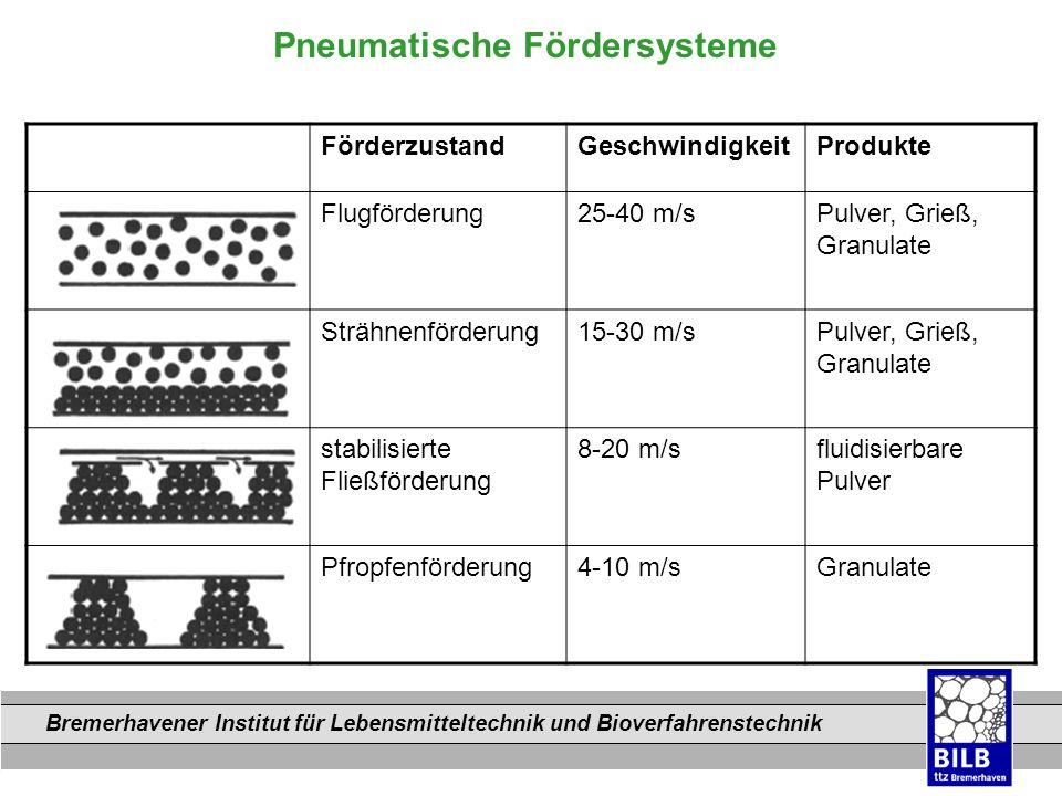 Pneumatische Fördersysteme