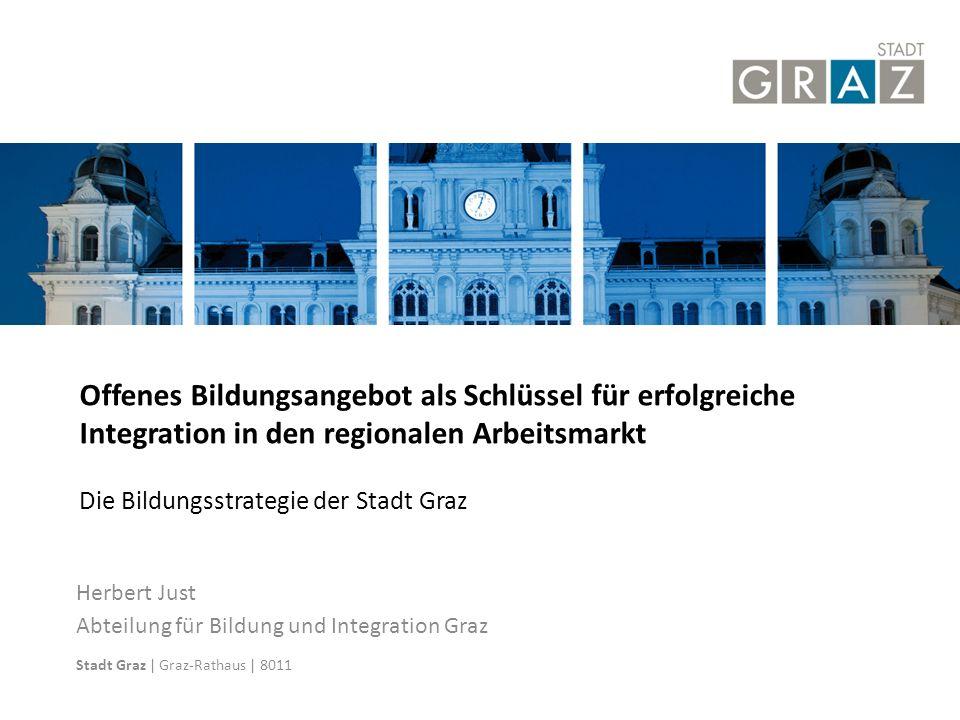 25.04.11 Offenes Bildungsangebot als Schlüssel für erfolgreiche Integration in den regionalen Arbeitsmarkt.