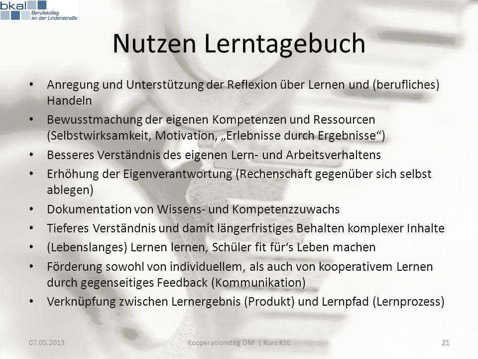 Kooperationstag DM | Kurs KSE