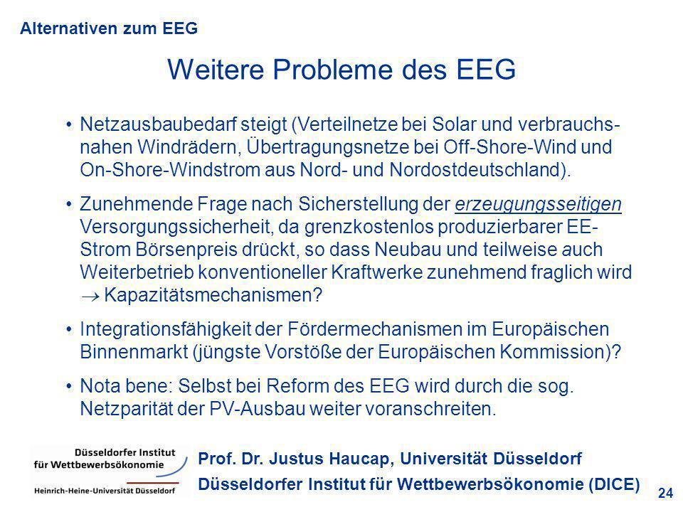 Weitere Probleme des EEG