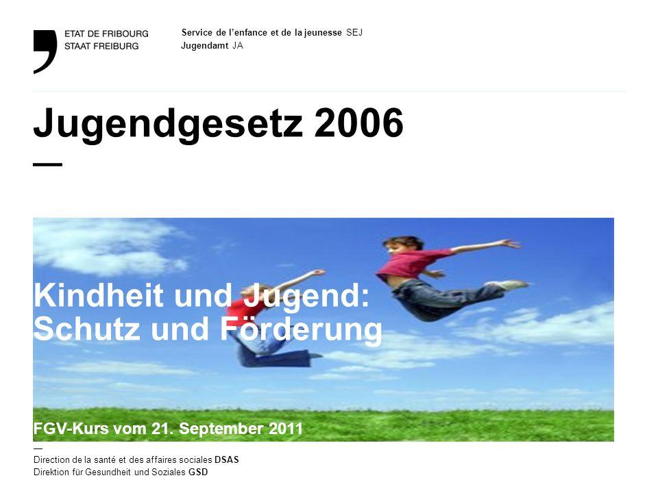 Jugendgesetz 2006 — Kindheit und Jugend: Schutz und Förderung