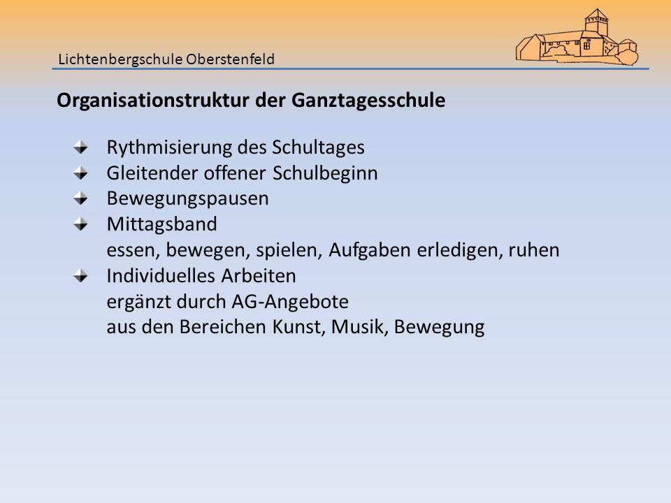 Organisationstruktur der Ganztagesschule