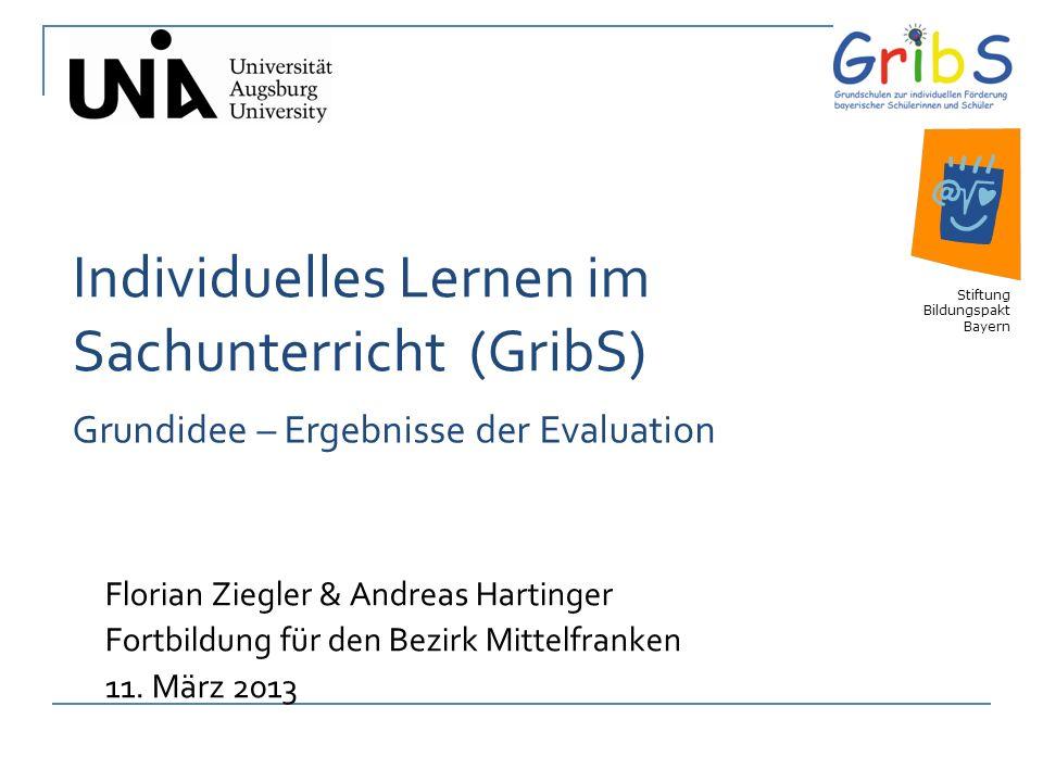 Individuelles Lernen im Sachunterricht (GribS)