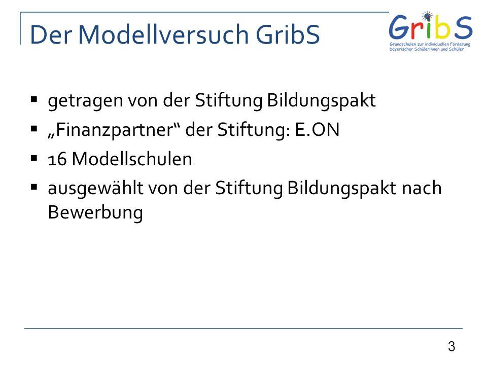 Der Modellversuch GribS