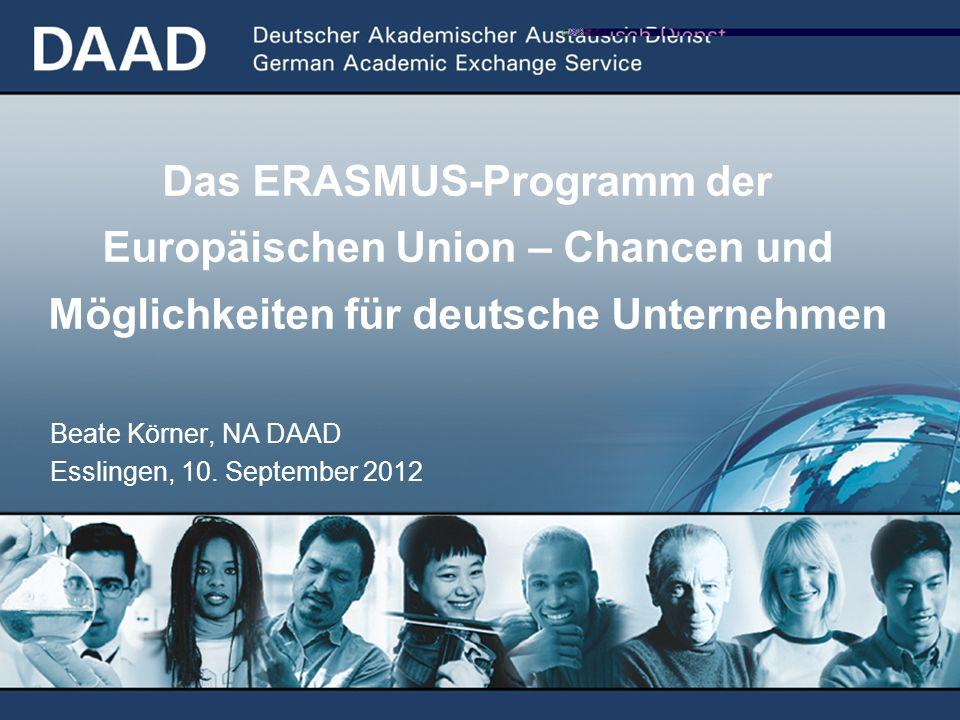 Beate Körner, NA DAAD Esslingen, 10. September 2012